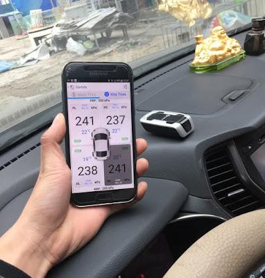 Cảm biến áp suất lốp Fobo Tire Hyundai Santafe