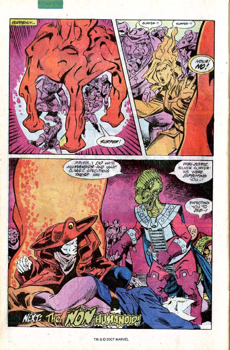 Read online Silver Surfer (1987) comic -  Issue #11 - 32