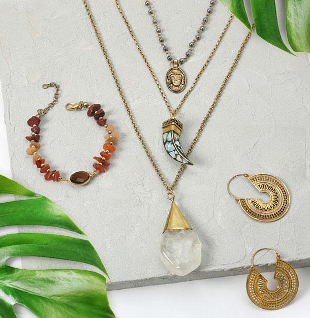 Boho-chic jewelry 2018
