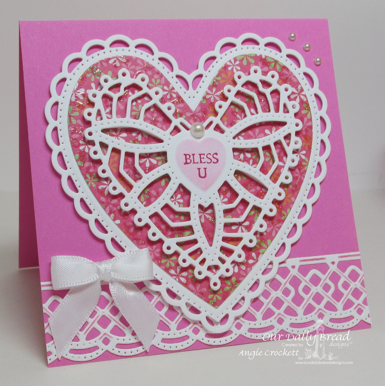 Stamps - Our Daily Bread Designs Be Mine, ODBD Custom Ornate Hearts Die, ODBD Custom Beautiful Borders Dies