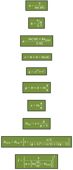 Goudar – Sonnad's Equations