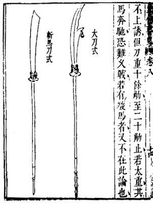 Ming Chinese Zanbatō