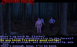 Pantallazo videojuego Stranger Things