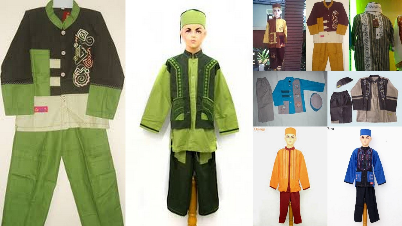 NATURAL Model Baju Muslim Untuk Anak Anak