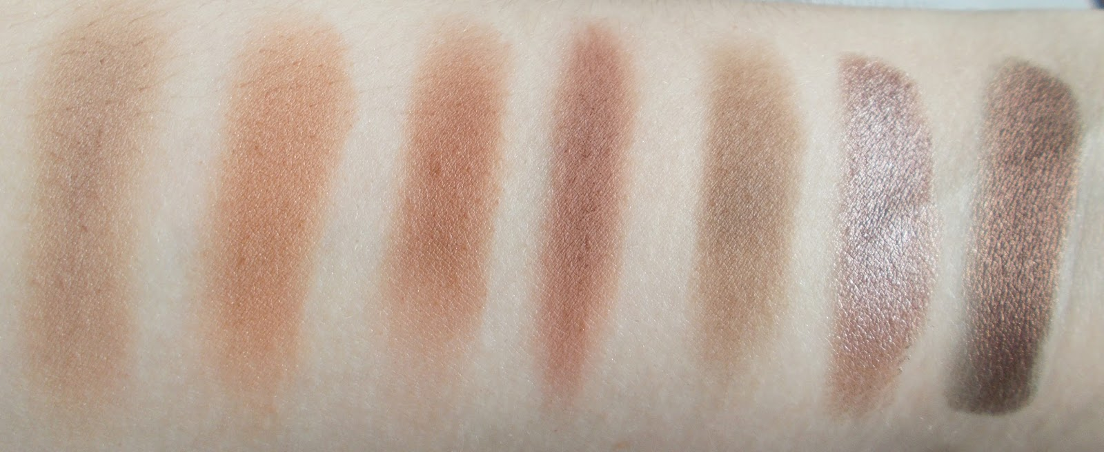 row 3 makeup geek eyeshadow swatches barcelona beach frappe cocoa bear wild west mocha mesmerised steampunk