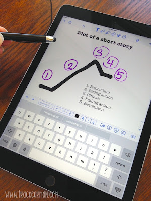 iPad Apps: Create original documents for note-taking and collaboration in Notability.