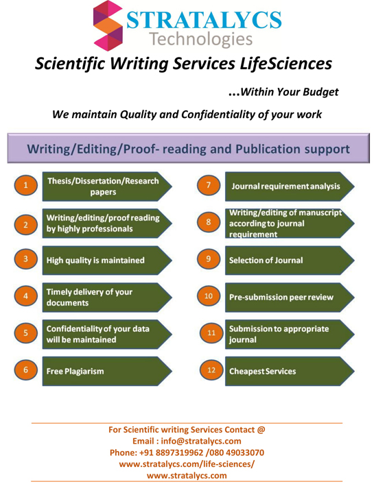 scientific writing services