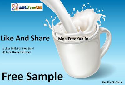 Free Sample Milk