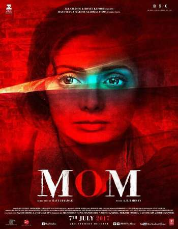 Mom 2017 Hindi 650MB BluRay 720p ESubs HEVC
