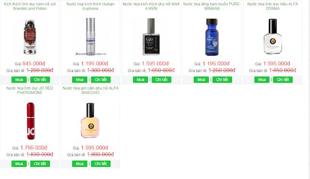 Giá bán thuốc kích dục nữ là bao nhiêu