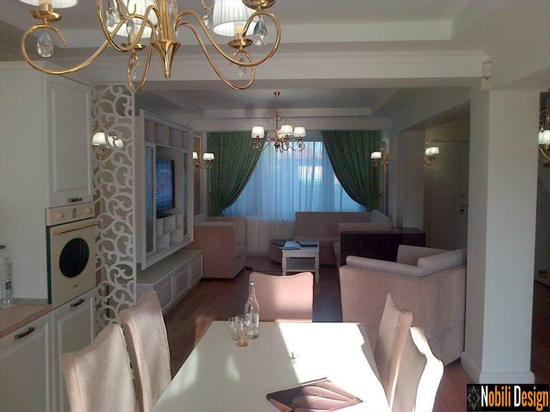 Design interior clasic de lux casa Bucuresti - Design interior Bucuresti preturi