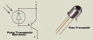 foto transistör sembolü