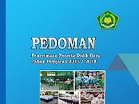 Juknis PPDB Madrasah Tahun Pelajaran 2017-2018