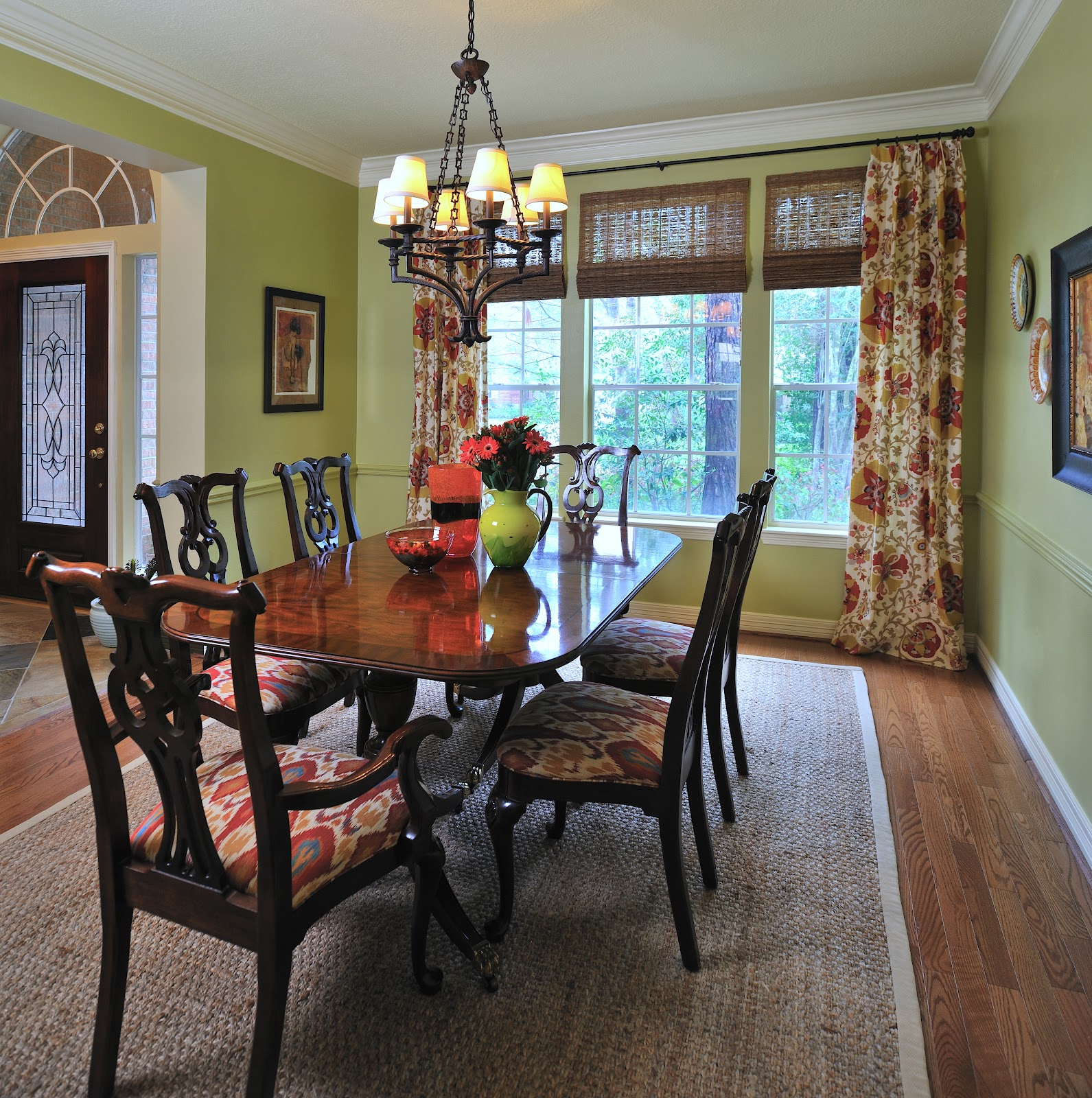 One Dining Room Three Different Ways: Design In The Woods: Dining Room Update...After The Party