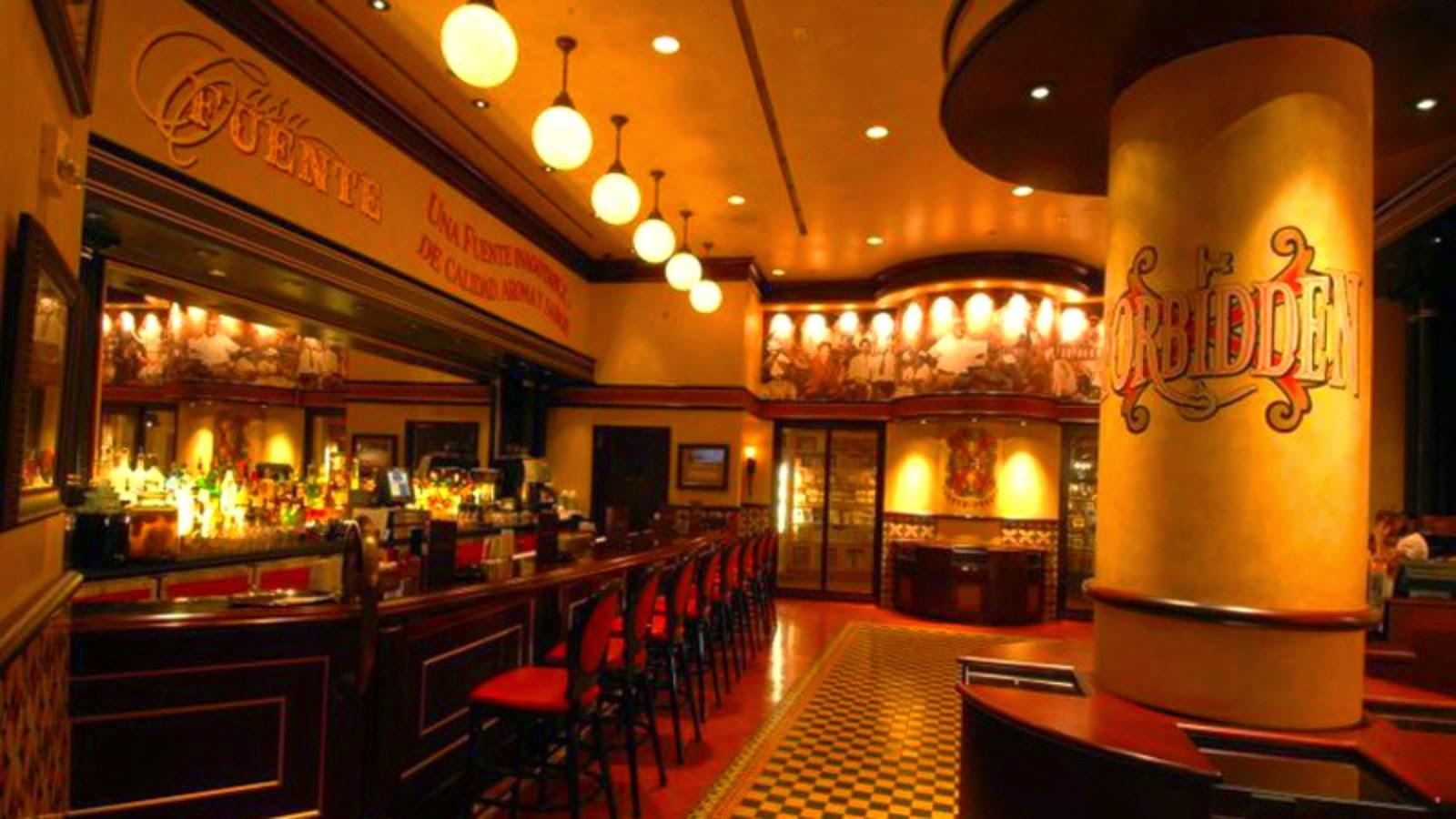 Bar de charutos Casa Fuente, em Las Vegas