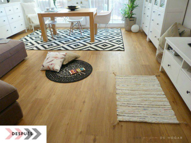 Una pizca de hogar 7 tipos de suelo que puedes colocar for Suelos sin obras leroy merlin
