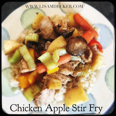Chicken Apple Stir Fry, Chicken Stir Fry, Healthy Recipes, 21 Day Fix, Healthy Dinner Recipes