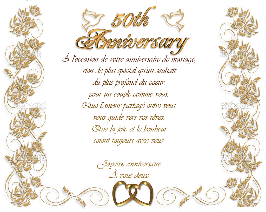 modele invitation anniversaire de mariage 50 ans document online. Black Bedroom Furniture Sets. Home Design Ideas