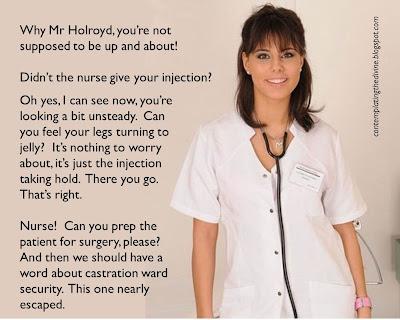 nurse castration captions