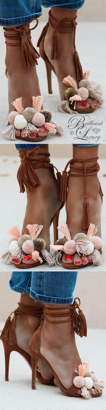 Brilliant Luxury ♦ Alameda Turquesa Anna sandals pastel