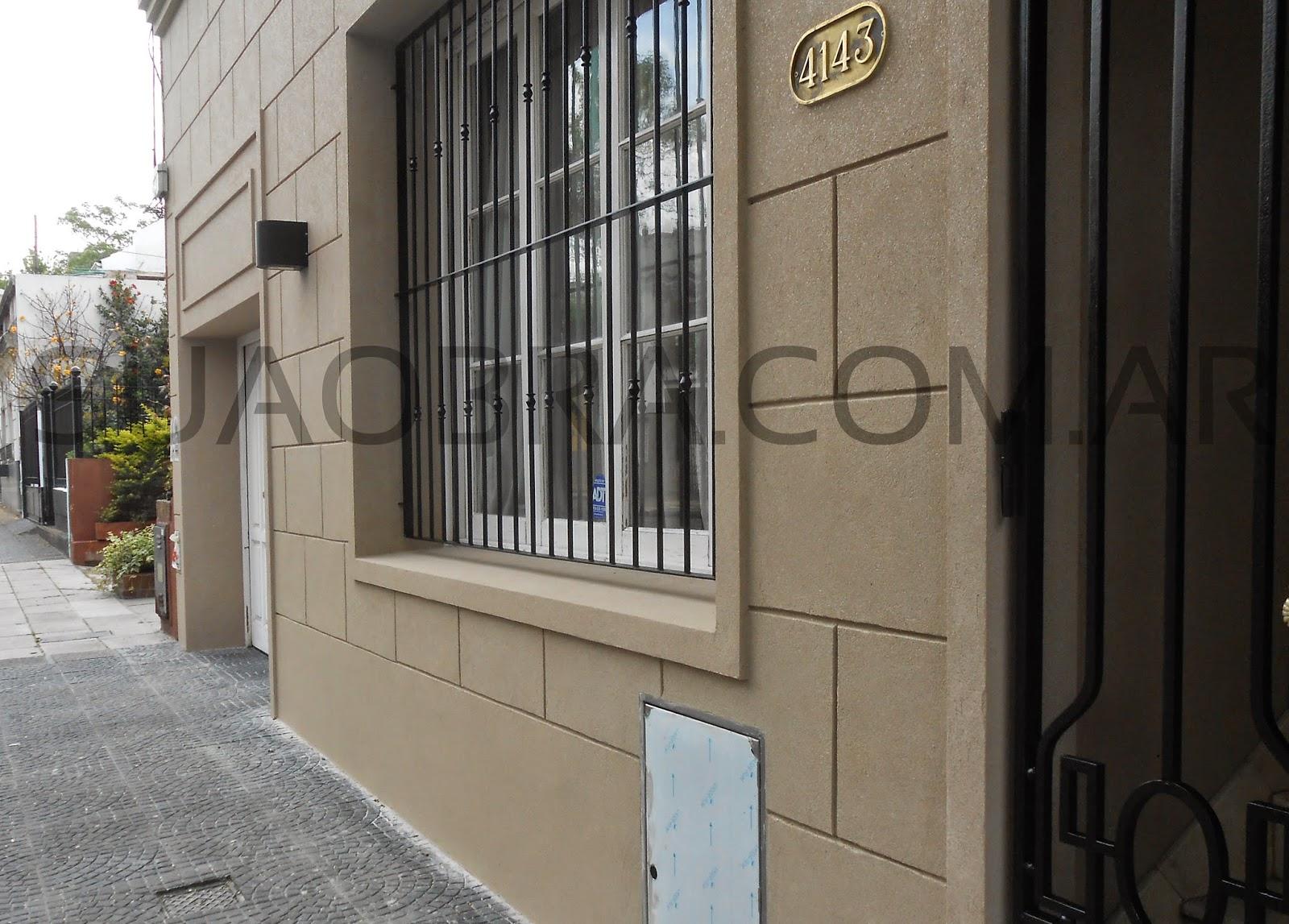 Tarquini revestimiento de paredes exteriores aplicacion - Molduras para paredes exteriores ...