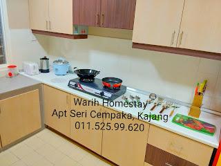 Warih-Homestay-Sri-Cempaka-Kajang-Kitchen