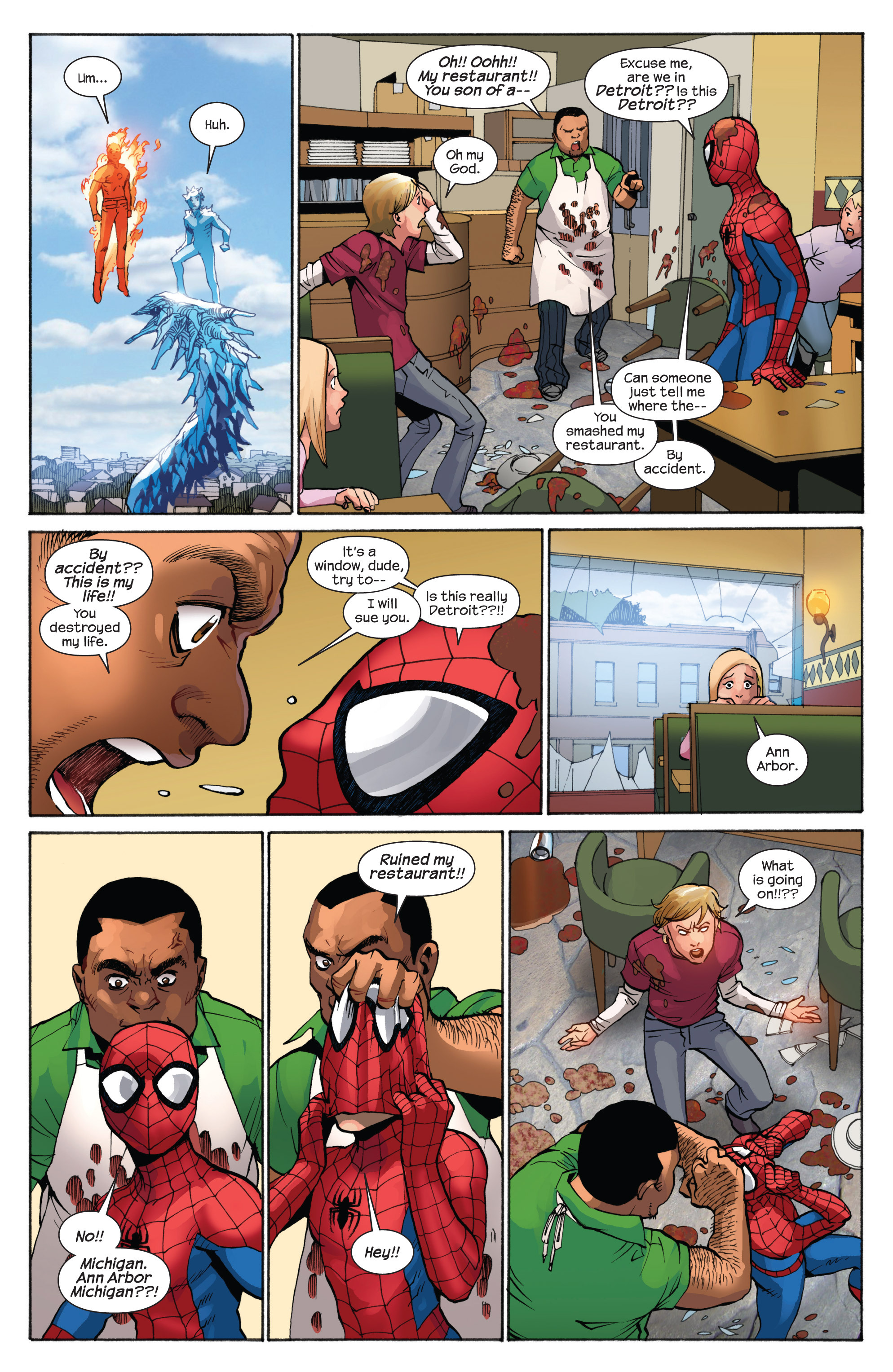 Read online Ultimate Spider-Man (2009) comic -  Issue #7 - 19
