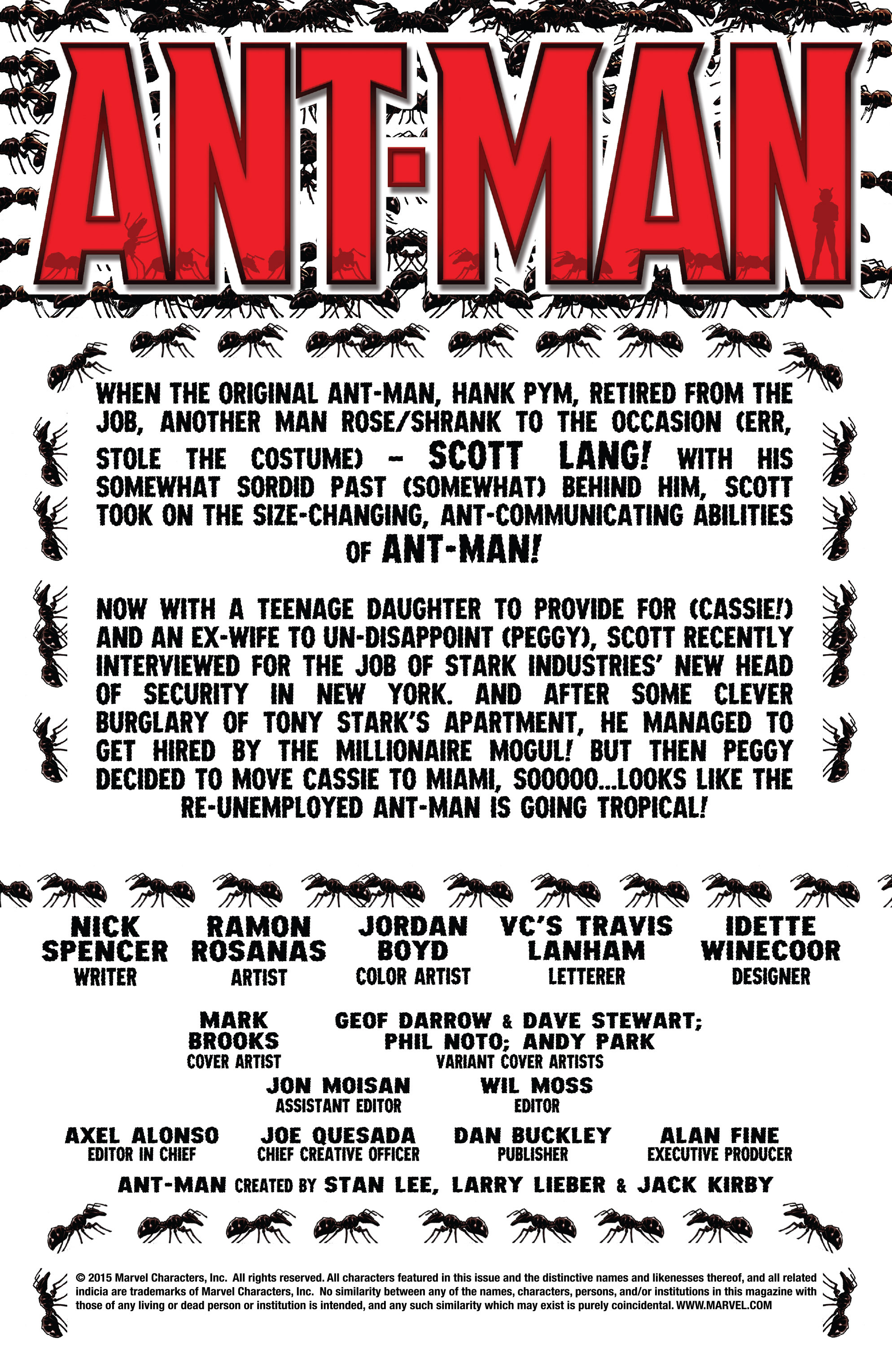 Read online Ant-Man comic -  Issue #2 - 2