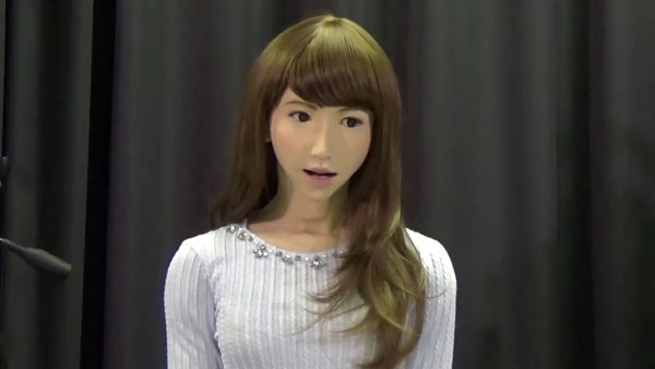 Robô mais humano do mundo
