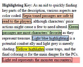 Goblin's Market Use of Text Shadings
