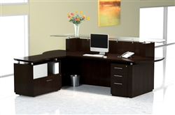 Mayline Sterling Series Reception Desk