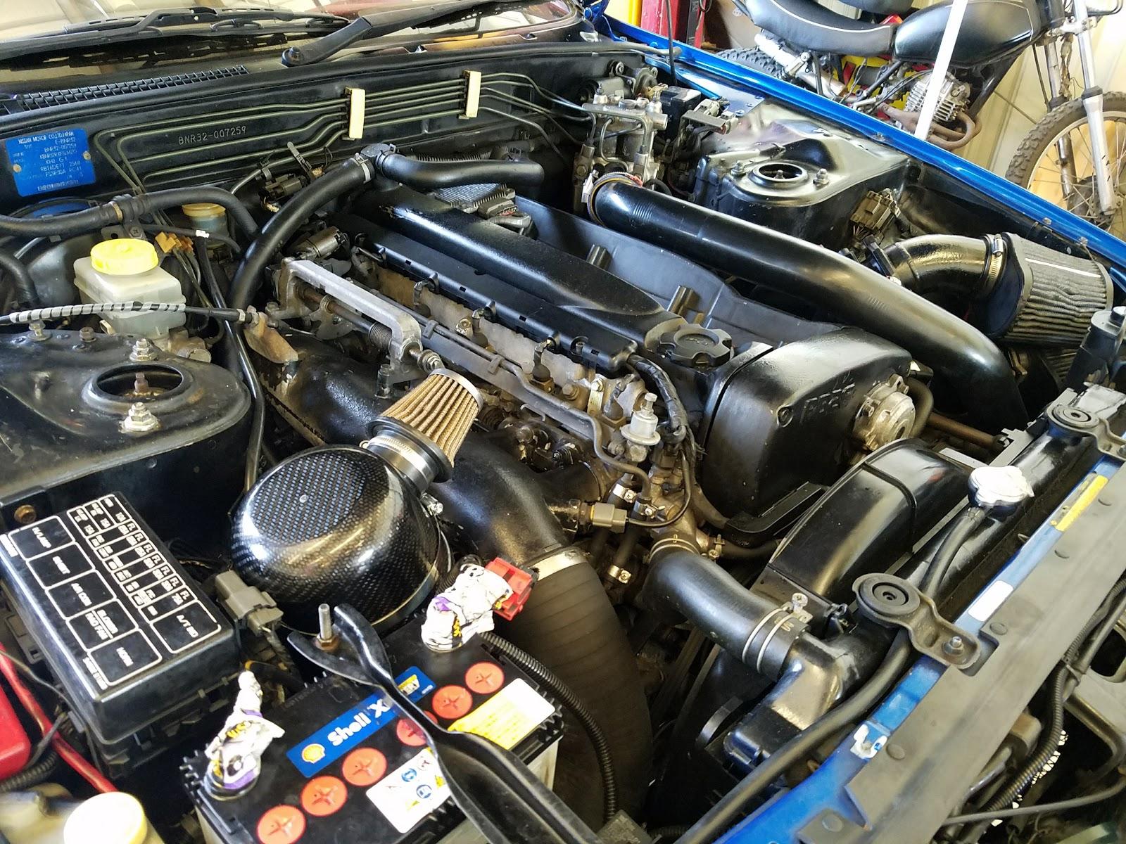 Rough Idle or High Idle : Nissan Skyline GT-R : RB26