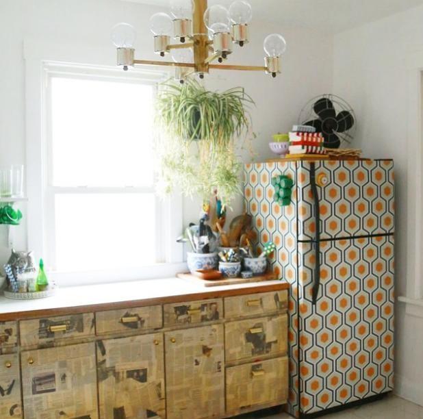 Wallpaper Pelapis Perabot Dapur