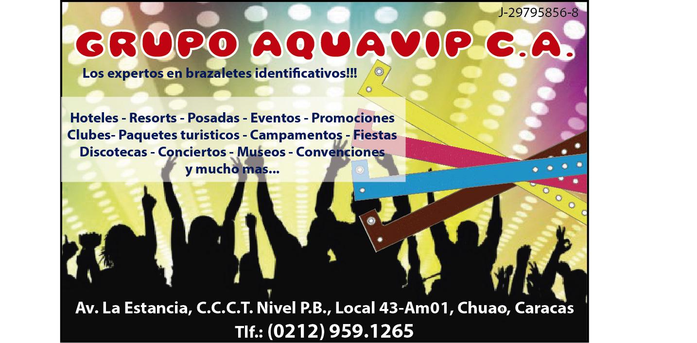 GRUPO AQUAVIP C.A. en Paginas Amarillas tu guia Comercial