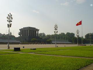 Mausolée Ho Chi Minh à Hanoi