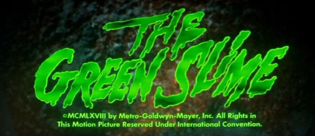 The Green Slime title screen