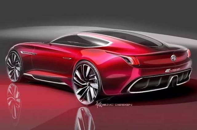 2017 MG E-Motion Design Study - #MG #concept_car