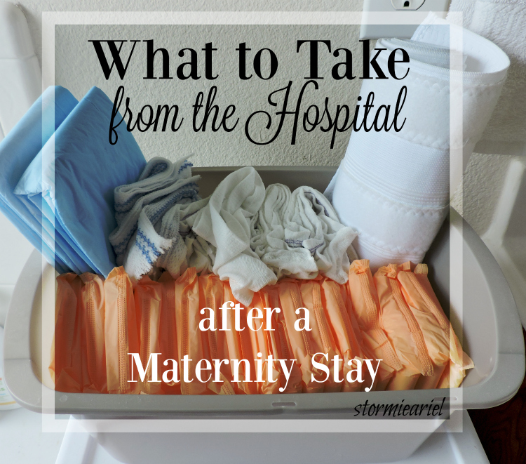 What to Take From the Hospital After a Maternity Stay