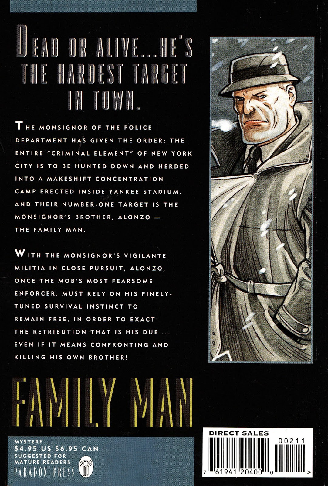 Read online Family Man comic -  Issue #2 - 2