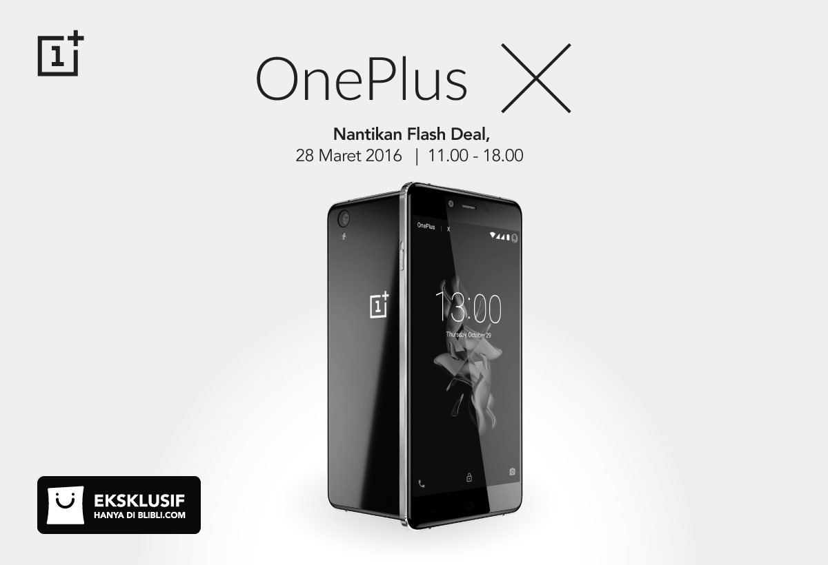 flash sale Oneplus X di Blibli
