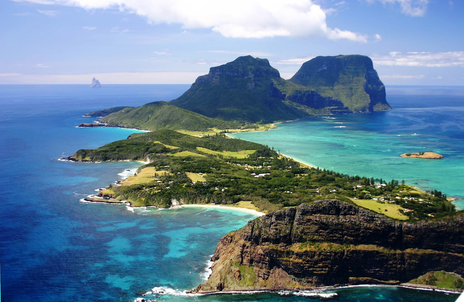 TOP WORLD TRAVEL DESTINATIONS: Lord Howe Island, Australia