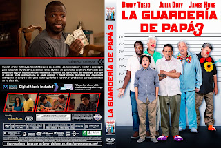 CARATULA LA GUARDERIA DE PAPA 3 - GRAND-DADDY DAY CARE - 2019