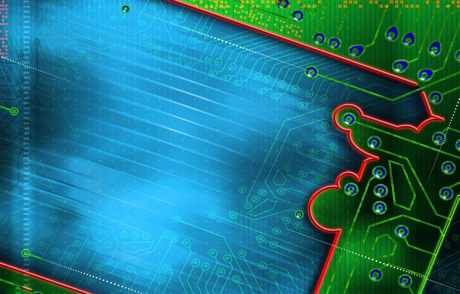 Abstract Circuit Board Background By Silvertiger: Abstract Circuit HD Wallpapers