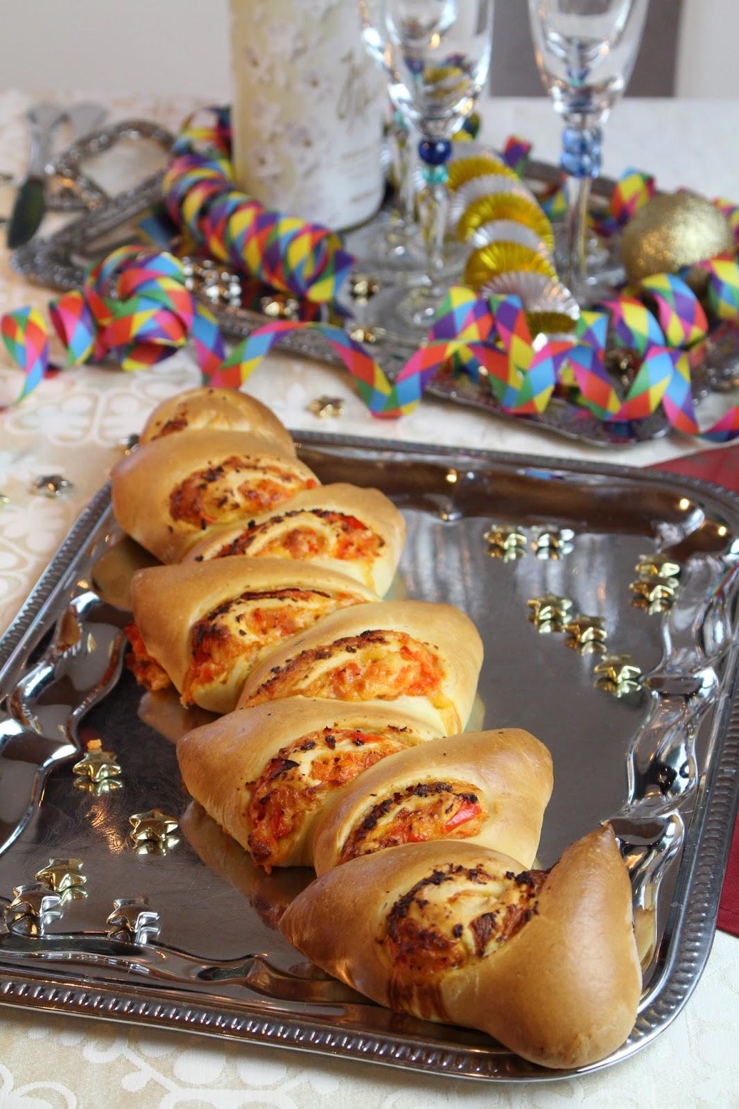Herzhafte Partyähre - perfekt für Weihnachten, Silvester oder Neujahr