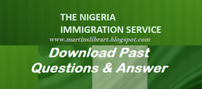 download Nigeria immigration past questions and answer