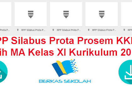 RPP Silabus Prota Prosem KKM Fiqih MA Kelas XI Kurikulum 2013