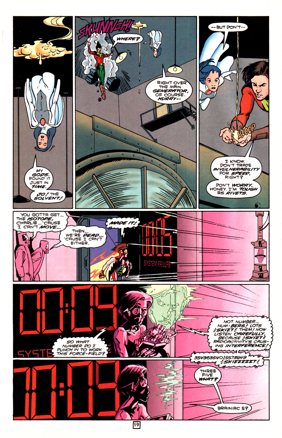 Legion of Super-Heroes (1989) 88 Page 19