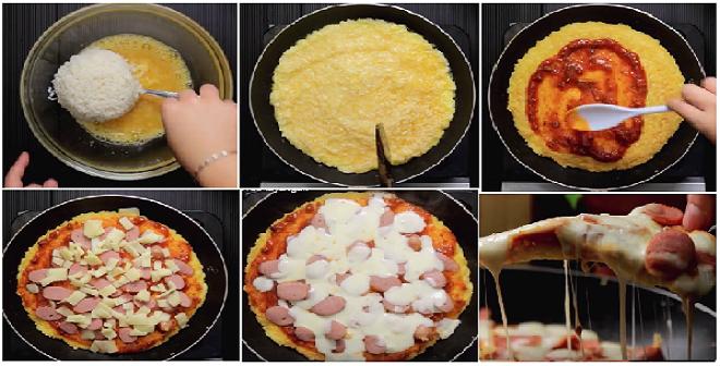 Resep Praktis Membuat Rice Pizza Rasa Enak Super Mantap