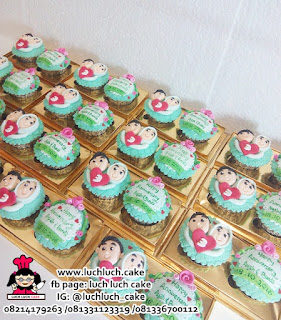 Souvenir Wedding Cupcake isi 2