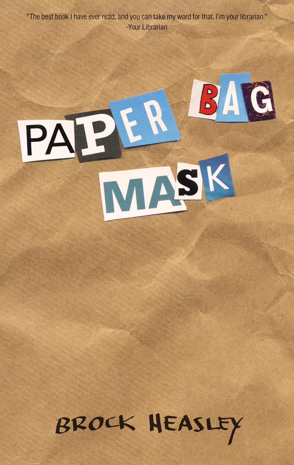 kasie west read paper bag mask